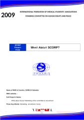 SCORP Projects Form 08-09 SOMS 1.doc