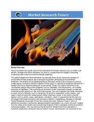 Halogen-Free Flame Retardant Market.pdf
