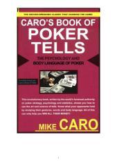 Caro's Book of Poker Tells (Mike Caro).pdf