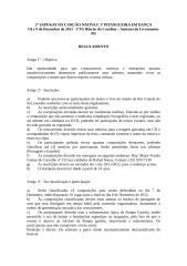 2º SAPUKAY DA CANÇÃO NATIVA E 1º PITANGUEIRA EM DANÇA.doc