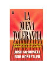 la nueva tolerancia. josh mcdowell.pdf