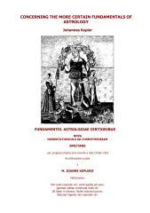 johannes kepler - the fundamental of astrology.pdf