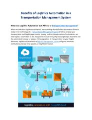 Benefits of Logistics Automation in a Transportation Management System.pdf