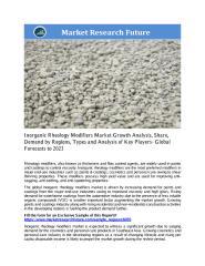 Inorganic Rheology Modifiers Market.pdf