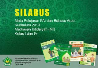 Silabus PAI dan Bahasa Arab untuk MI Kelas I dan IV.pdf